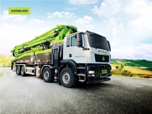 引领国产高端底盘泵车崛起 中联重科汕德卡底盘泵车热销全国