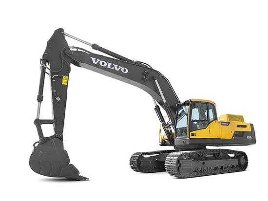 都说沃尔沃EC350DL履带式挖掘机好,究竟好在那里?