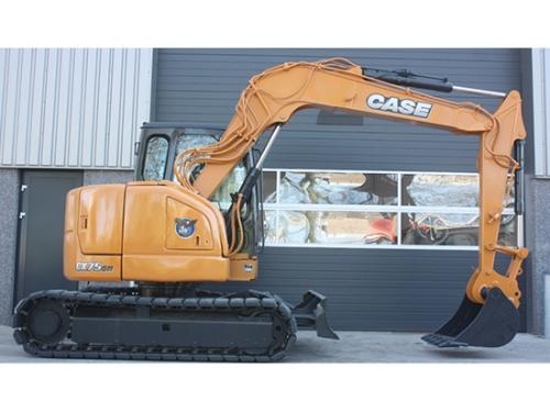 """街头施工小精灵""""凯斯CX75SR挖掘机!"""
