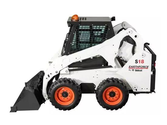 让我们一起了解,三剑客之一:山猫S18滑移装载机