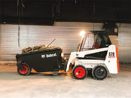 山猫S70滑移装载机:拿捏各种小型工况!