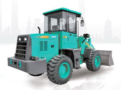 炎炎夏日,山河智能SL26W轮式装载机使用注意事项及保养