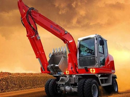 厦工XG8075W轮式挖掘机质量怎么样