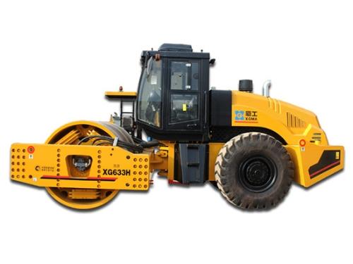 厦工XG633H单钢轮压路机值得买吗