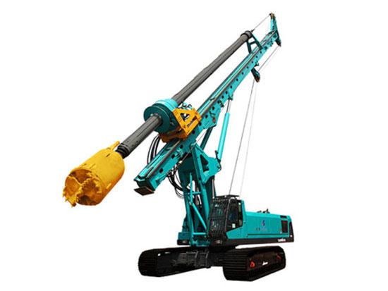 山河智能SWDM300H旋挖钻机支援项目建设