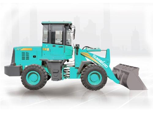 山河智能SL18W轮式装载机在磨合期不可忽视的维护