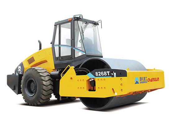 实力与品质,常林公司8268T单钢轮压路机