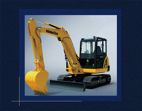 小身材,巨能量——新生代挖掘机小松PC58-8挖掘机