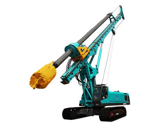 山河智能SWDM280旋挖钻机的常见故障及处理方法