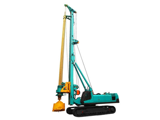 山河智能SWDM550旋挖钻机履带的日常维护技巧
