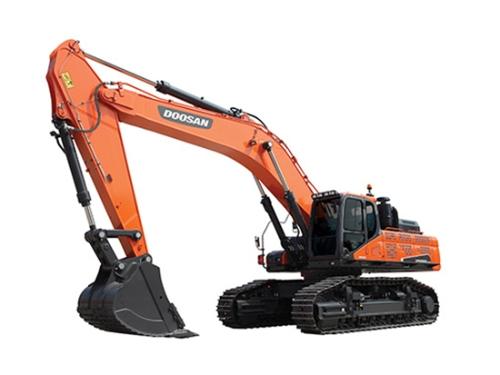 矿山作业制服利器:斗山DX520LC-9C挖掘机