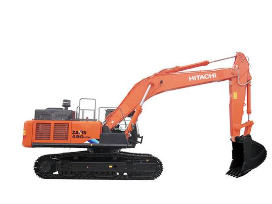 担心矿山作业胜任不了?那你就该选择日立ZAXIS490LCH-5A挖掘机!