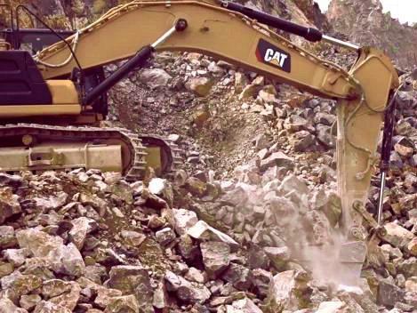新一代CAT<sup>®</sup>(卡特)349挖掘机,16年矿山施工团队的专业选择!