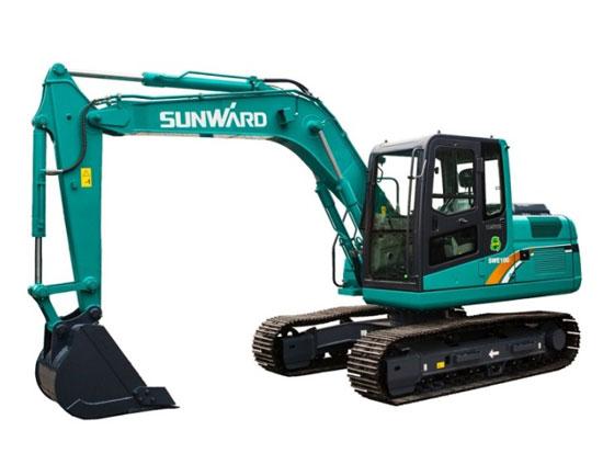 山河智能SWE100E履带挖掘机维修遇到的常见问题