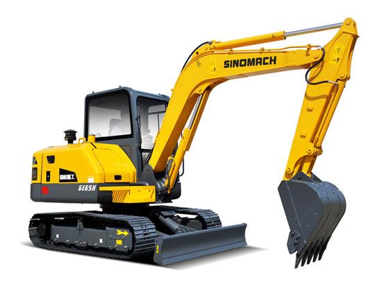 常林公司GE65H履带挖掘机订单再创销售奇迹