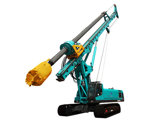 山河智能SWDM120旋挖鉆機的安全操作注意事項