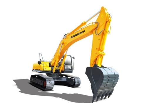 拉斯维加斯展会现场售6台常林公司GE300H履带挖掘机