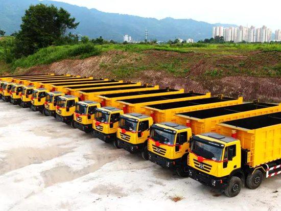 上汽红岩30辆自卸车再赴刚果(金) 批量投入非洲矿石运输