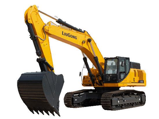 你的柳工950E挖掘机排气冒烟是什么颜色?