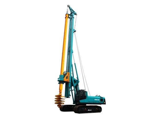 山河智能SWDM220旋挖钻机5个常见的故障
