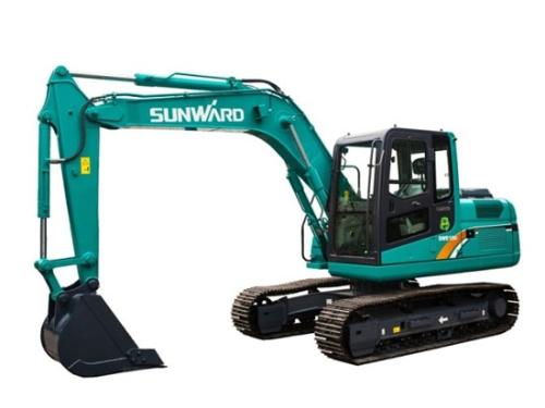 山河智能SWE100E履带挖掘机6种旋转故障解析及解决方法
