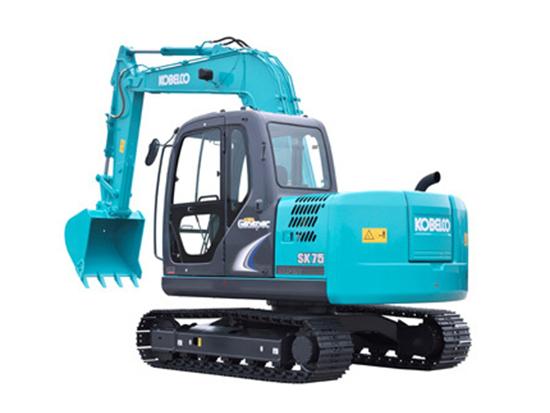 瞧一瞧看一看,神钢SK75-8挖掘机不一般!
