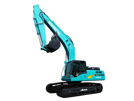 山河智能SWE215E挖掘机更换液压油需要注意什么?