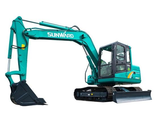 山河智能SWE80E9履带挖掘机无法正常旋转是什么原因?