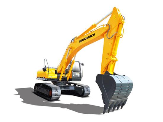 常林公司GE300H履带挖掘机施工中突然遇到故障怎么办?
