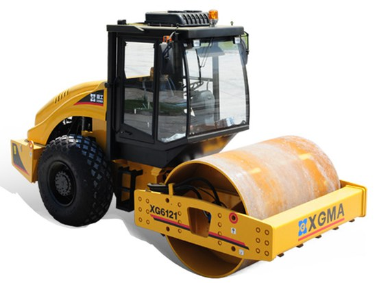 厦工XG6141单钢轮压路机 高质量压实作业的理想选择