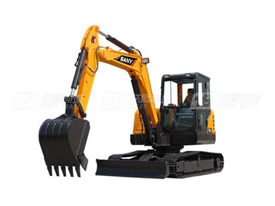 三一SY60C履带挖掘机:传承经典 高效持久