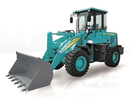 山河智能SL15W轮式装载机在磨合期使用与维护的注意事项