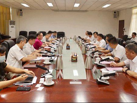 柳工集团与广西科技厅座谈交流