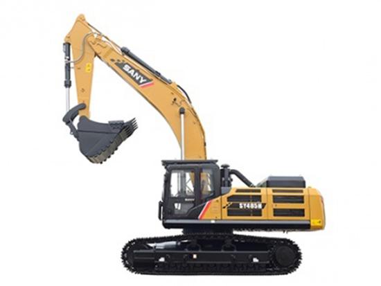 矿山利刃竟然是三一SY485H挖掘机?