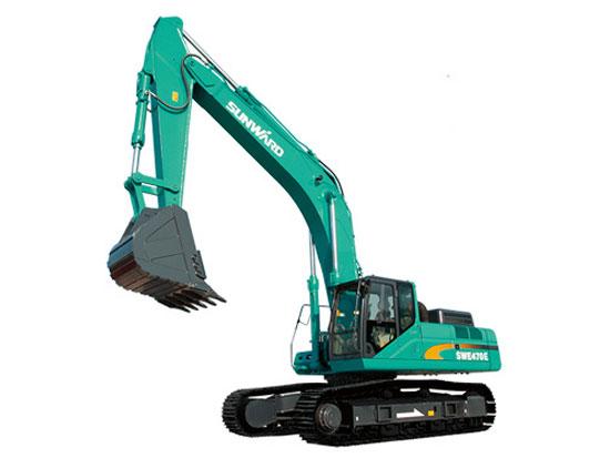 山河智能SWE470E-3挖掘机出现问题该怎么办?