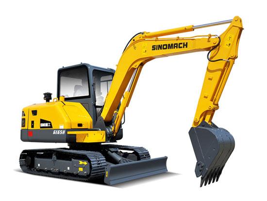 如何保养闲置时的常林公司GE65H挖掘机
