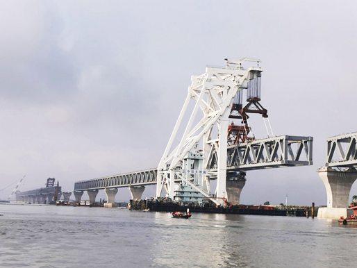 """托举起孟加拉国人民的""""梦想之桥""""——方圆搅拌站服役孟加拉Padma大桥"""