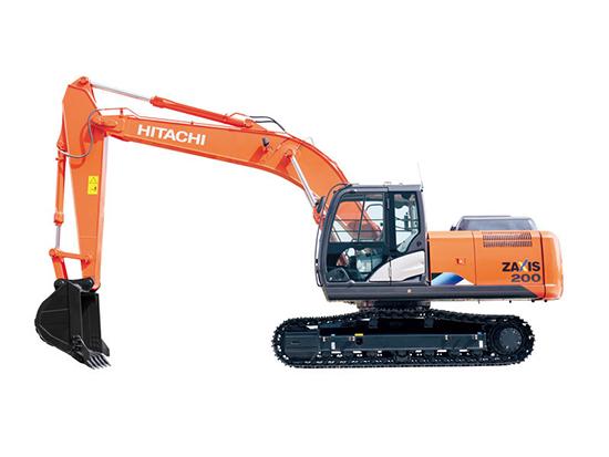 低油耗绿色环保:日立ZX200-5A挖掘机