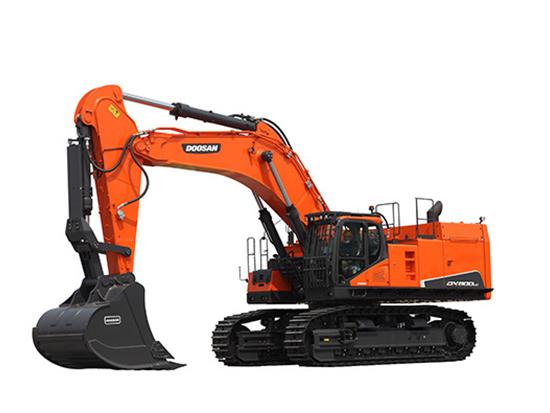 """矿山上的""""大家伙""""斗山DX800LC-9C挖掘机!"""