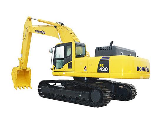 完美的技术,堪称掘金利器:小松PC430-8挖掘机