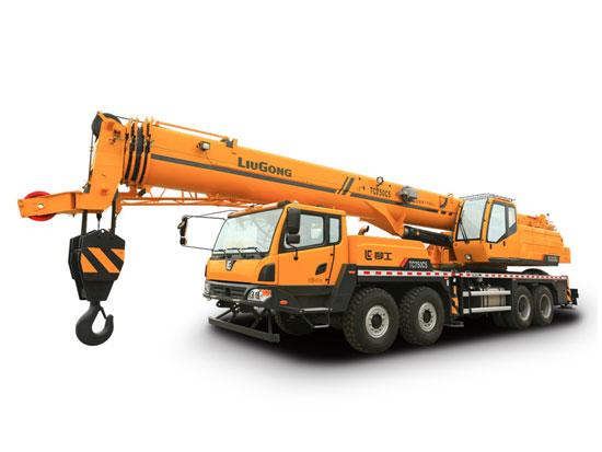 柳工TC750C5汽车起重机吊臂出现故障怎么办?