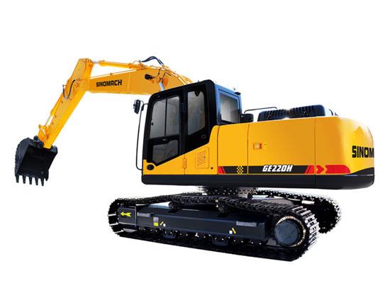 常林公司GE220H履带挖掘机施工中突发状况,该如何解决?