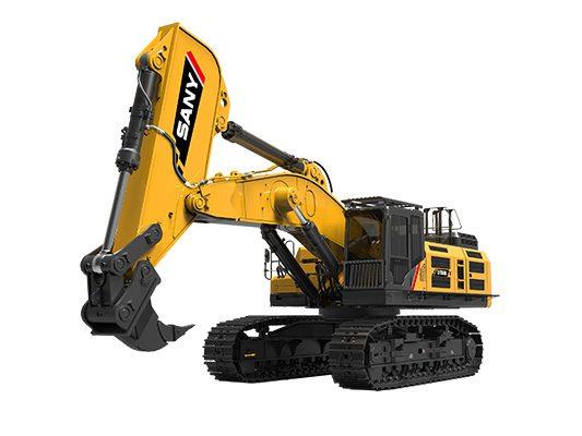 三一SY750H挖掘机:开山裂石易如反掌