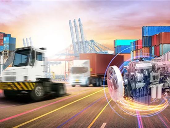 在这个重要港口,近千台潍柴发动机奔腾不息!