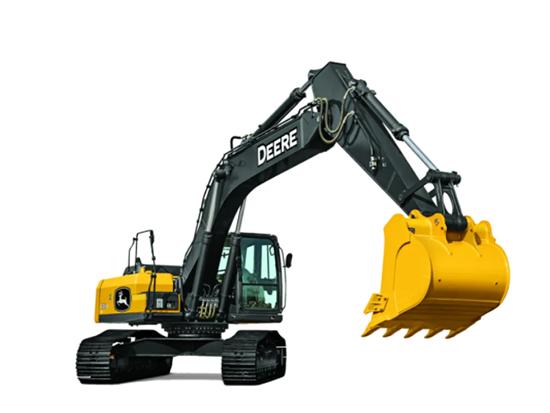 让用户备感欣慰-约翰迪尔E260LC挖掘机