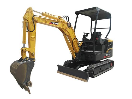 抢险救灾一马当先:玉柴YC22-9挖掘机