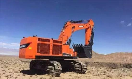 540马力!4.59方斗,斗山新款80吨级挖机全面解析