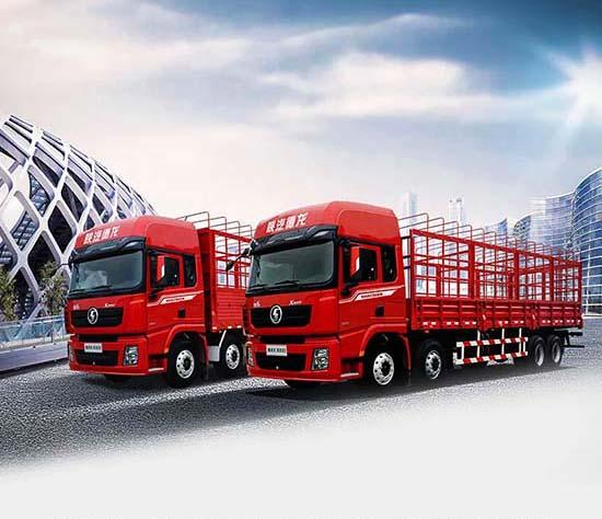 """德龙X3000绿通版载货车,抢""""鲜""""一步!"""