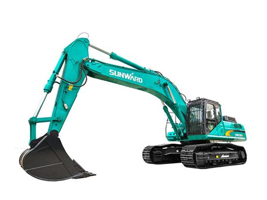 """精致外表下隐藏的""""巨兽""""般的动力:山河智能SWE365E-3挖掘机"""