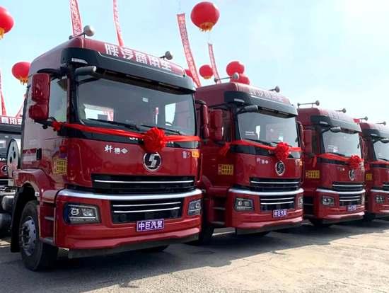 玉柴国六重型燃气发动机在辽宁批量交付